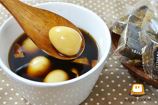 桂圓薑炖鵪鶉蛋糖水