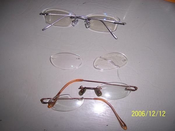 糖幫我換了2副眼鏡