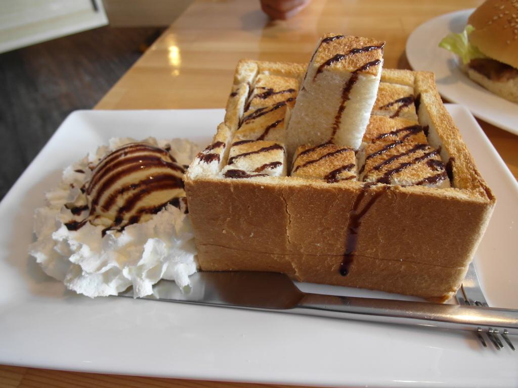冰淇淋磚塊吐司