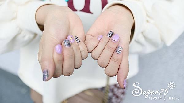 Nice Spa美容美體秋冬格紋光療13.jpg