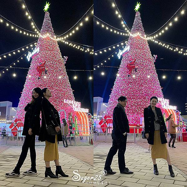 華泰名品城粉紅聖誕樹3.jpg