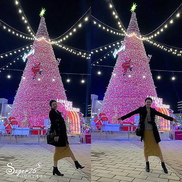 華泰名品城粉紅聖誕樹4.jpg