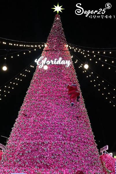 華泰名品城粉紅聖誕樹42.jpg