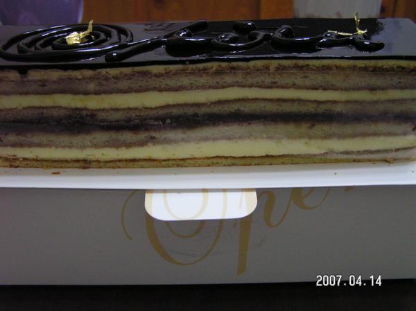 多層次的歐貝拉蛋糕