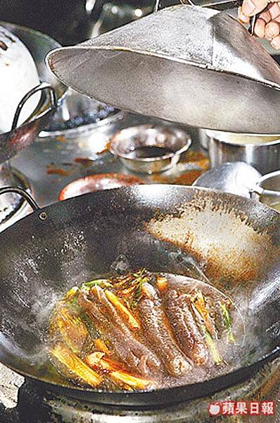 年菜DIY-蔥燒海參3