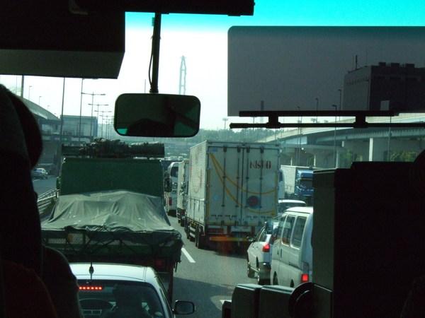 日本公路之也會塞車