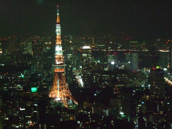 超美的東京鐵塔!