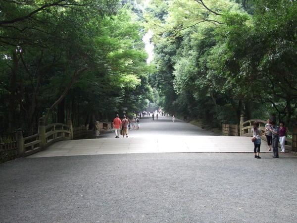 通往神宮的步道