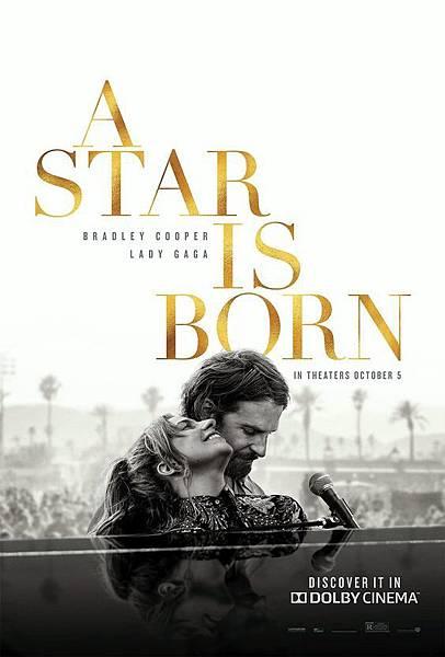 一個巨星的誕生A Star is Born(10/19/2018)