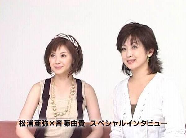 電影「スケバン刑事-コードネーム=麻宮サキ」初代與四代共演,接受訪談