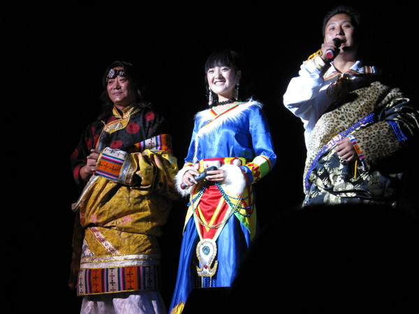 九寨溝藏羌歌舞秀 主持人