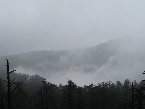纜車站都被雲霧籠罩
