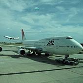 近看747好壯觀