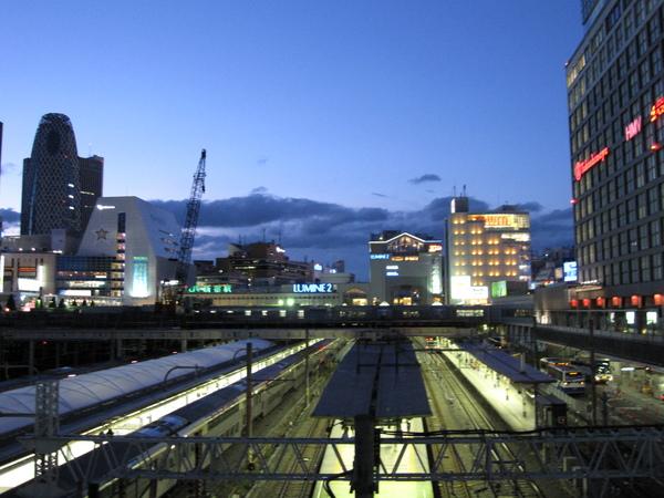 新宿車站南口