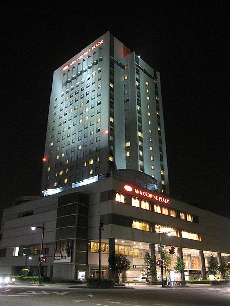 飯店的外觀