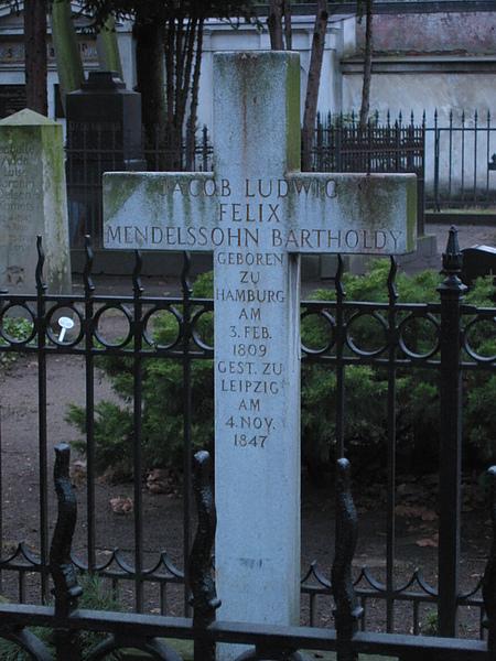 孟德爾頌墓