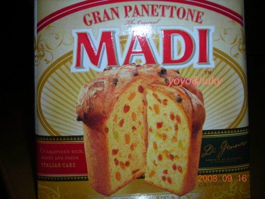20080916好市多MADI Panettone 02