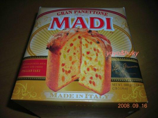 20080916好市多MADI Panettone 01