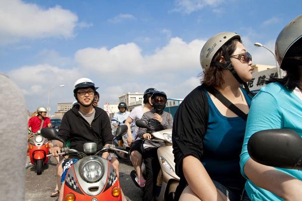 騎機車到北海遊客中心