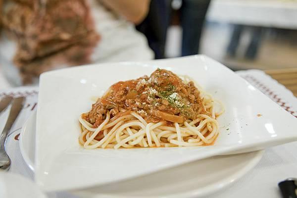 茄汁肉醬義大利麵