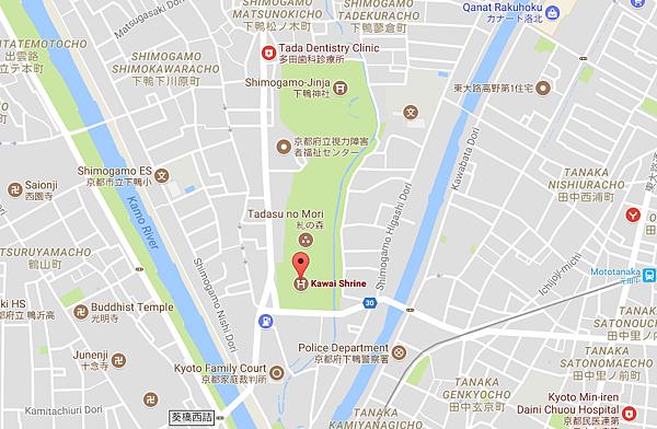 河合神社及糺之森地圖.png