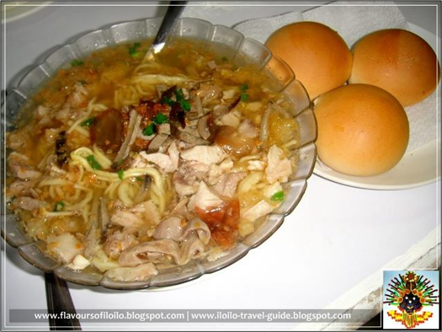 3、Perfect partner for batchoy - mini pan de leche