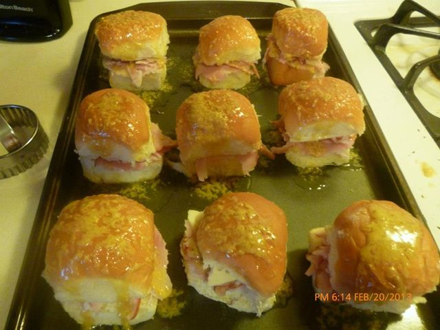 3、Ham and Cheese Sandwiches