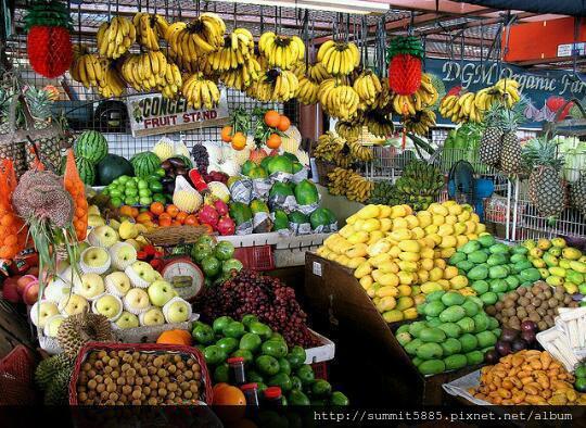 4、菲律賓的水果攤