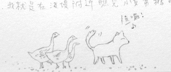 小黃帶鵝媽媽