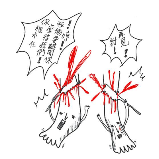 老左與老右- 芭蕾受難記10