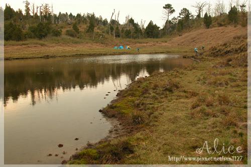 加羅湖畔...