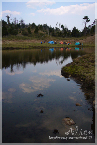 加羅湖清晨