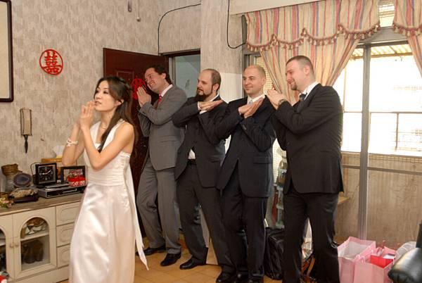 想順利帶走新娘,先過伴娘這一關!