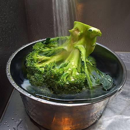 20140318野菜を洗いました。