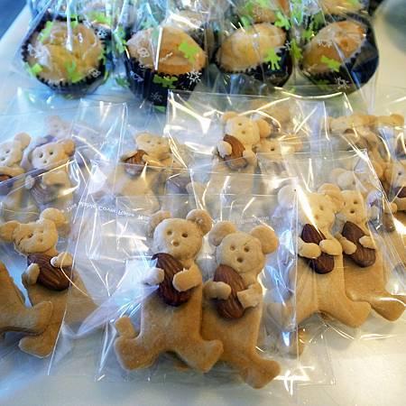 20140822私は友達にクッキーを作ってあげました。