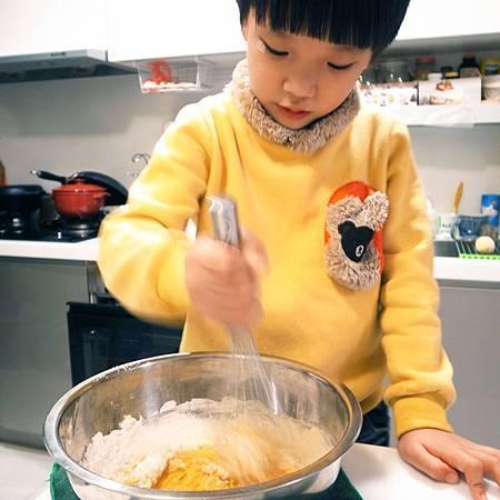 20141204私もケーキを作るのが好きの息子がいます。