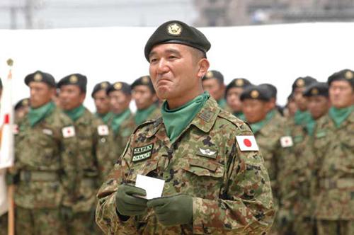 日本沒有軍隊