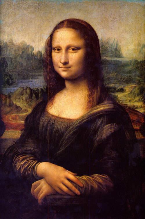 蒙娜麗莎的髮型1