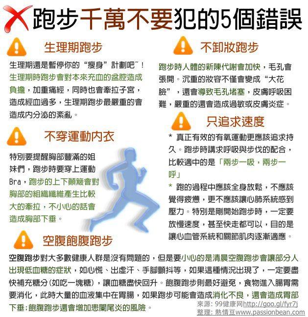 跑步健身的十大好處