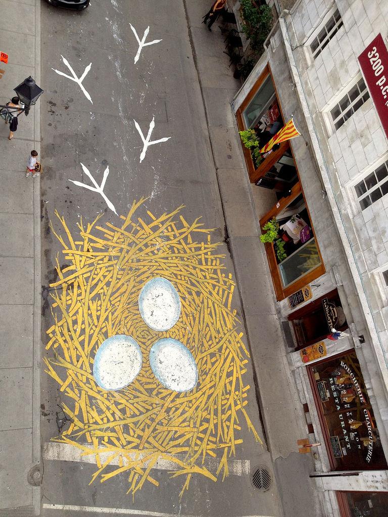 自行車迷的街頭藝術1