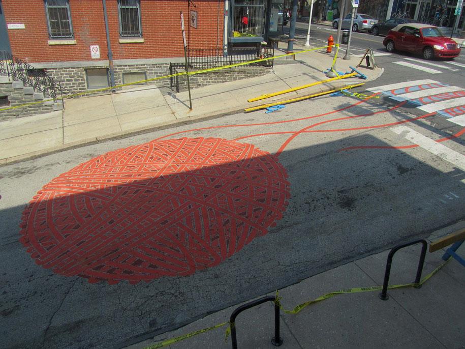 自行車迷的街頭藝術2