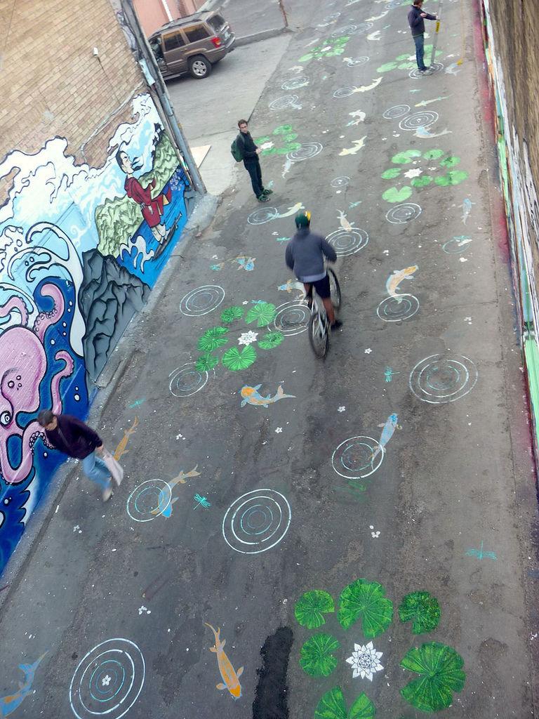 自行車迷的街頭藝術5
