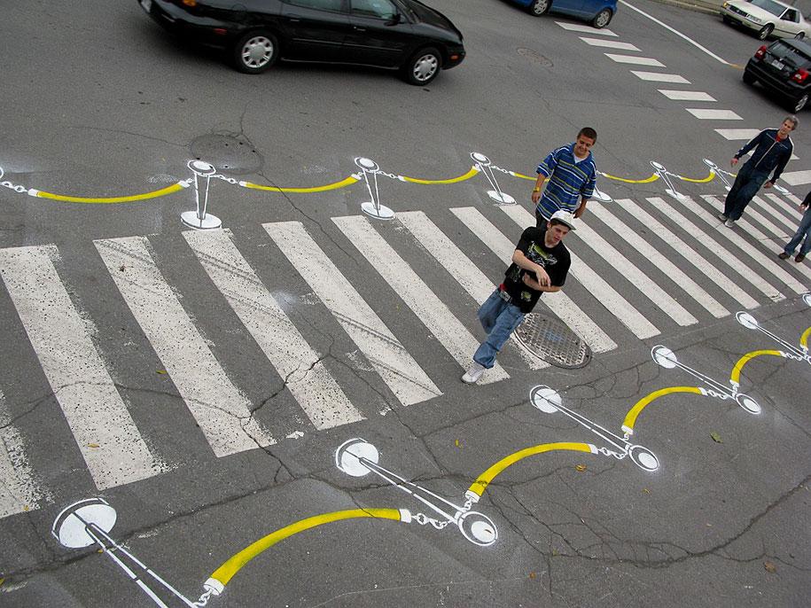 自行車迷的街頭藝術8