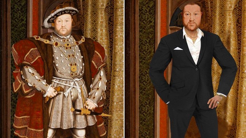 當歷史的偉人穿上現代服裝2