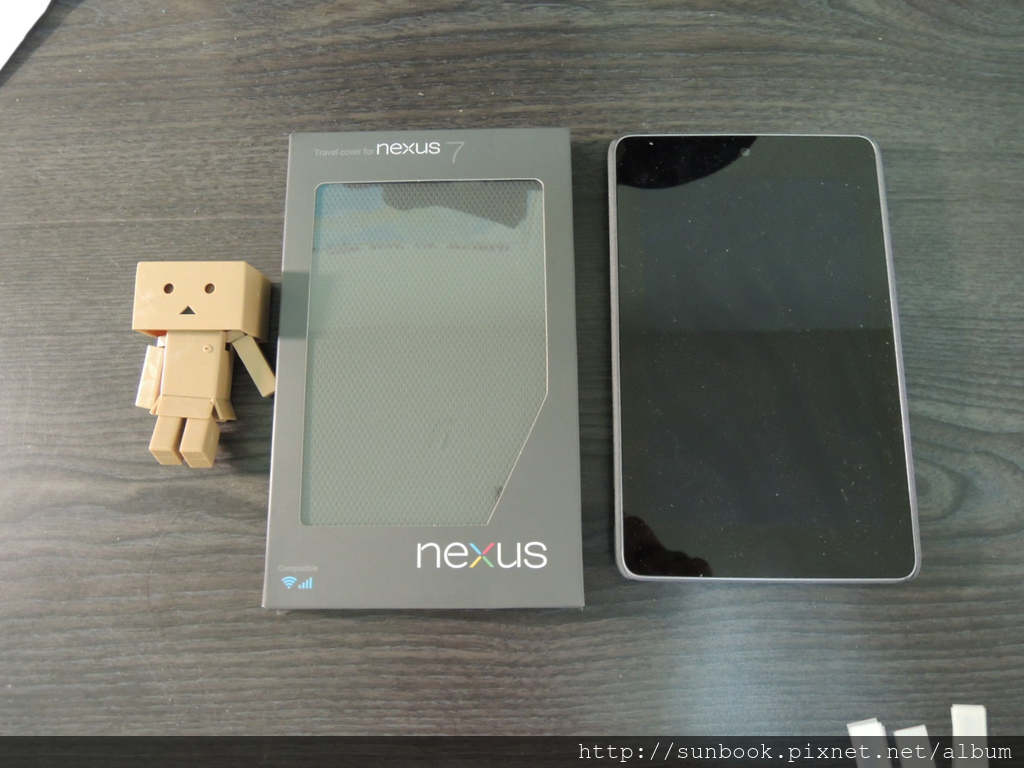 Google ASUS Nexus 7原廠皮套開箱1.JPG