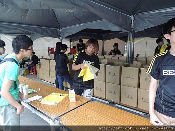 2013 Seiko Super Runner城市路跑賽衣服開箱2