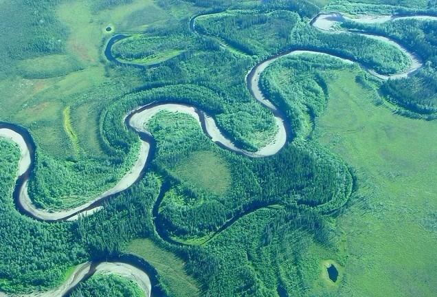河流,為什麼不走直路