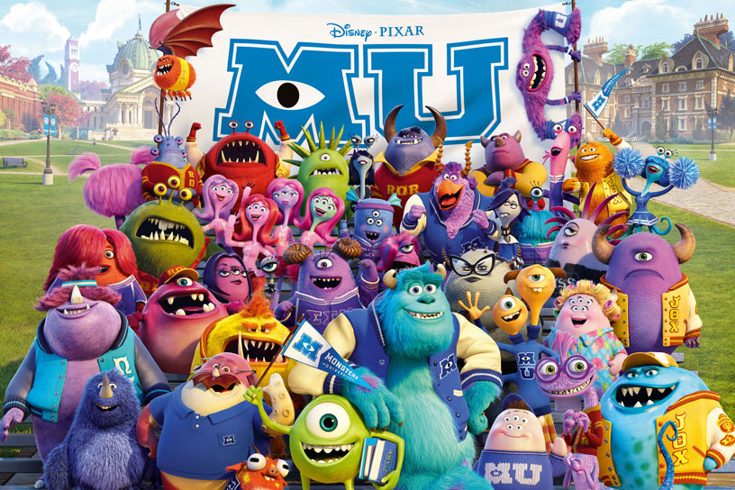 怪獸大學 (Monsters University)