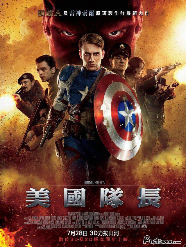 美國隊長(Captain America)