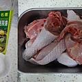 苦茶油雞肉1
